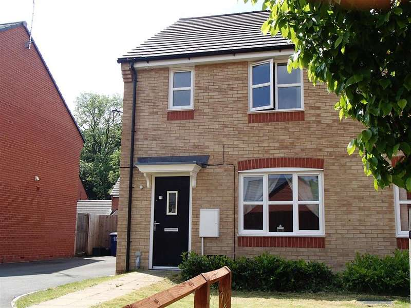 3 Bedrooms Semi Detached House for sale in Henblas Court, Gatewen Village, Wrexham