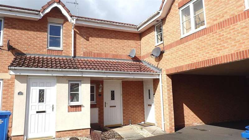 2 Bedrooms Terraced House for sale in Fishguard Close, Wrexham