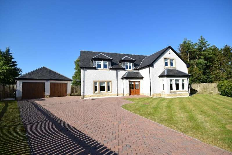 4 Bedrooms Detached House for sale in Brookfield Grove, Fenwick, Ayrshrie, KA3 6GD