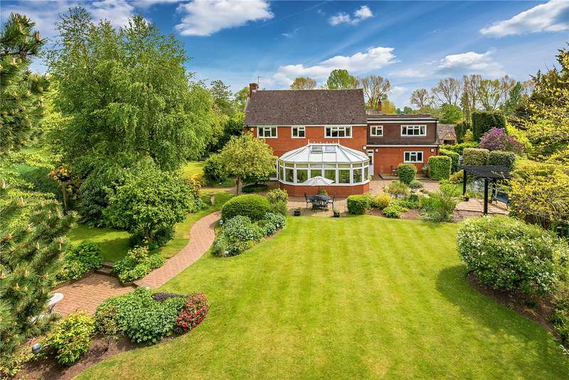 4 Bedrooms Detached House for sale in Estate House, Tong Norton, Shifnal, Shropshire, TF11