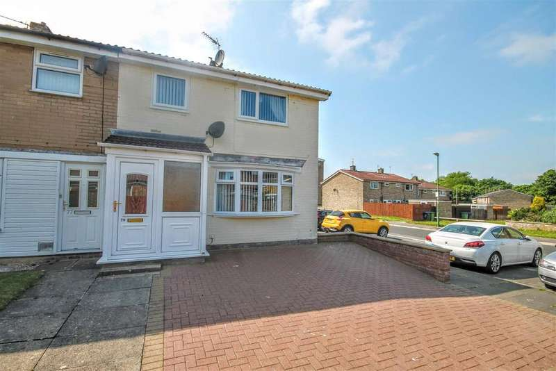 3 Bedrooms End Of Terrace House for sale in St. Barbaras Walk, Newton Aycliffe