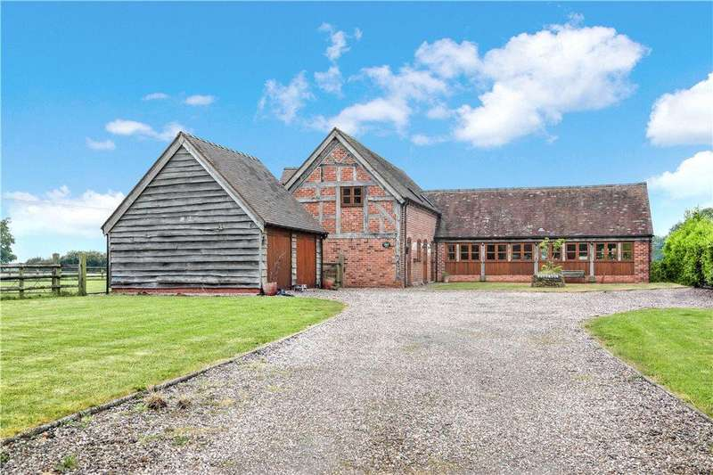 5 Bedrooms Barn Conversion Character Property for sale in Rashwood, Droitwich, Worcestershire, WR9