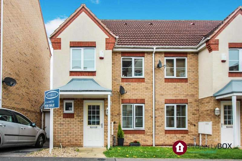 3 Bedrooms Semi Detached House for sale in Thistley Close, Thorpe Astley, Leicester, LE3