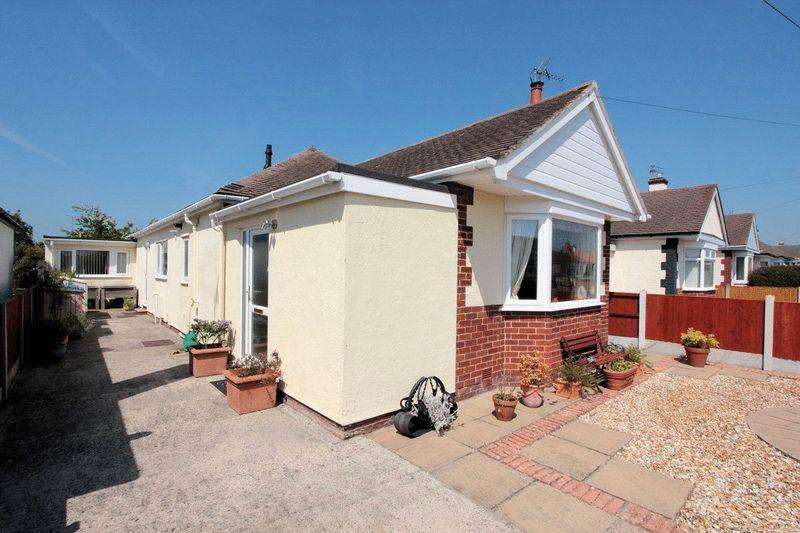 3 Bedrooms Detached Bungalow for sale in Shaun Drive, Rhyl