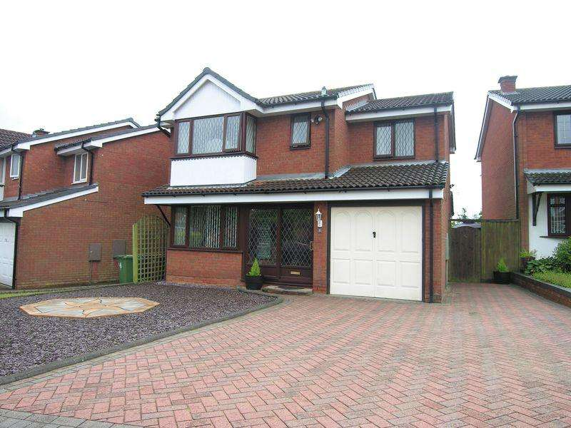 4 Bedrooms Detached House for sale in Sedgemere Grove, Shelfield