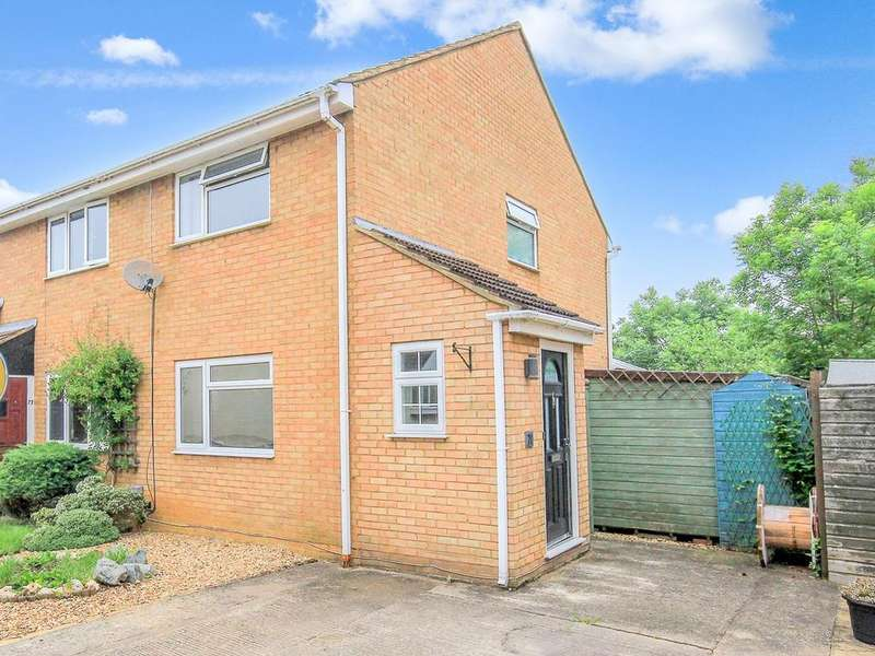 2 Bedrooms End Of Terrace House for sale in Derwent Rise, Flitwick, MK45