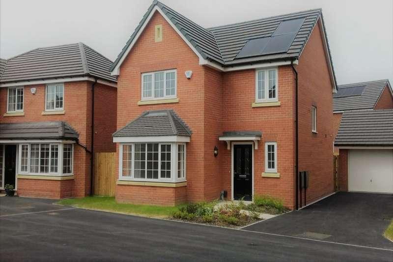 4 Bedrooms Detached House for sale in The Paddocks, Sandy Lane, Higher Bartle, Preston, PR4