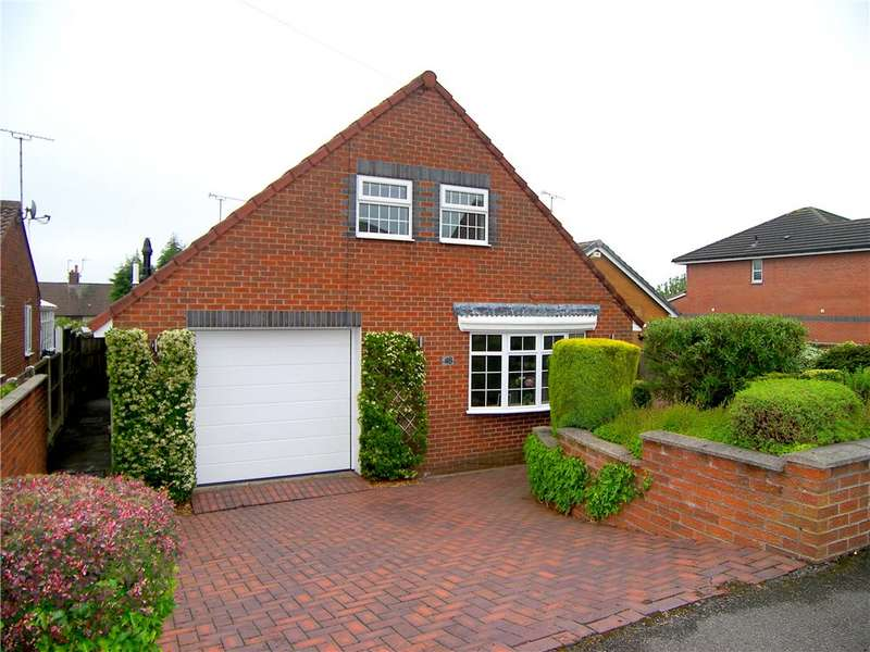 3 Bedrooms Detached Bungalow for sale in The Hamlet, South Normanton, Alfreton, Derbyshire, DE55