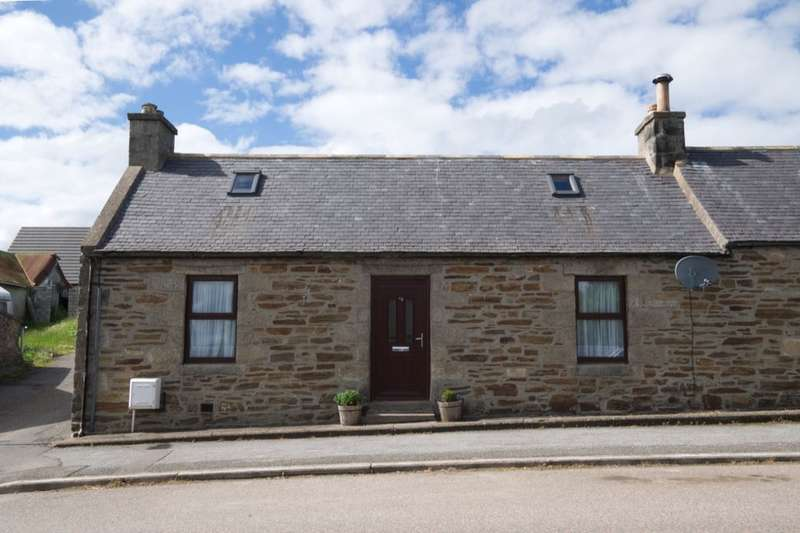 2 Bedrooms Semi Detached House for sale in Main Street, Newmill, Keith, AB55