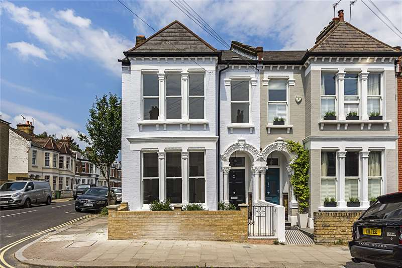 5 Bedrooms Semi Detached House for sale in Voltaire Road, London, SW4