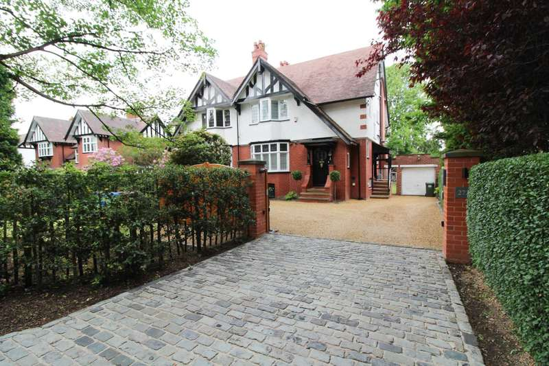 4 Bedrooms Semi Detached House for sale in BRAMHALL LANE SOUTH, Bramhall