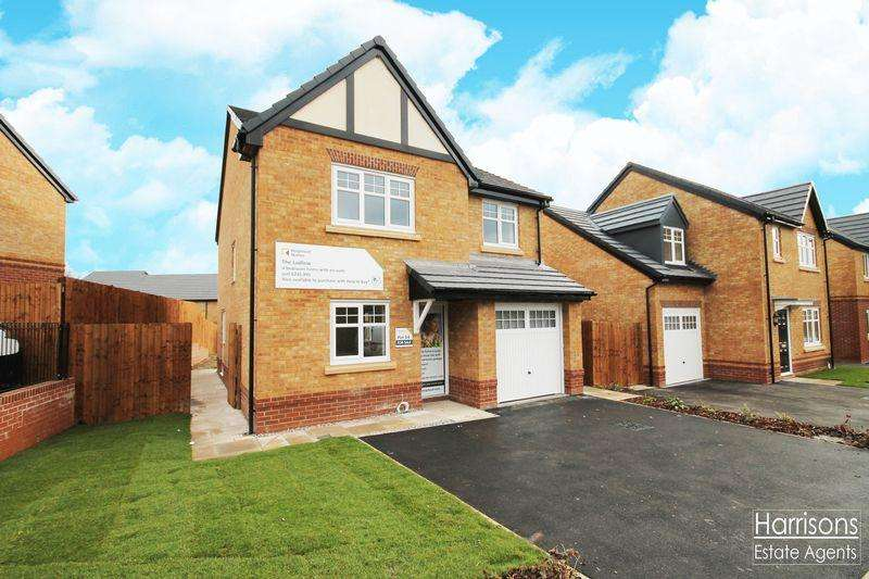 4 Bedrooms Detached House for sale in PLOT 58|The Ludlow|Gibfield Park Avenue, Atherton, Manchester, Greater Manchester.