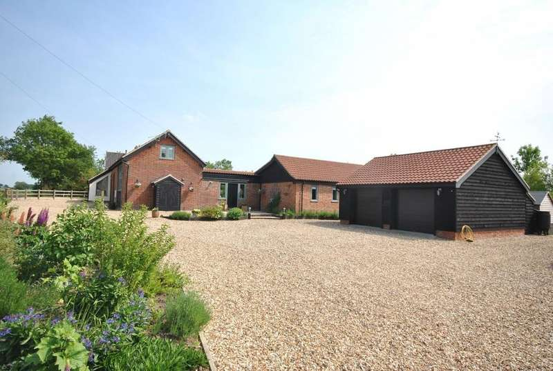 4 Bedrooms Barn Conversion Character Property for sale in Winfarthing Road, Banham, Norfolk