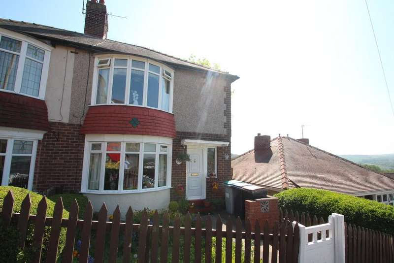2 Bedrooms Semi Detached House for sale in Newstead Rise, Shotley Bridge, Consett