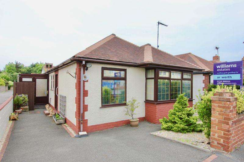 2 Bedrooms Detached Bungalow for sale in Victoria Road, Prestatyn