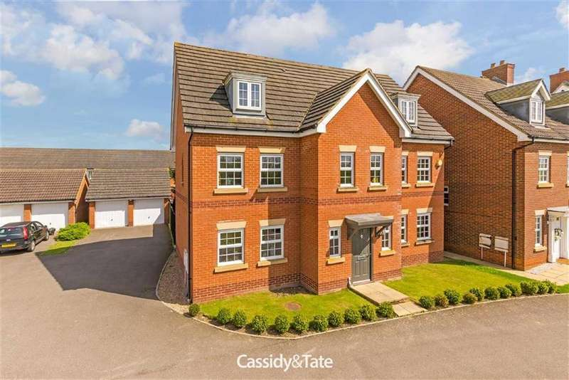 6 Bedrooms Detached House for sale in The Runway, Salisbury Village, Hertfordshire