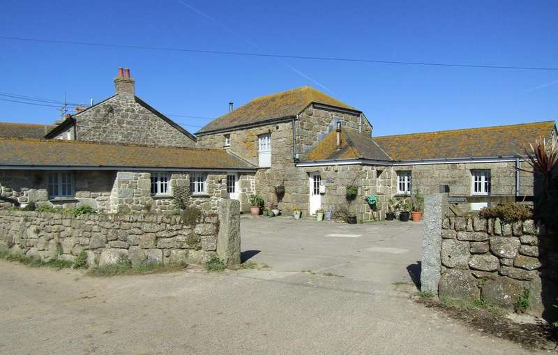 4 Bedrooms Barn Conversion Character Property for sale in Trevorgans, St. Buryan, Penzance TR19