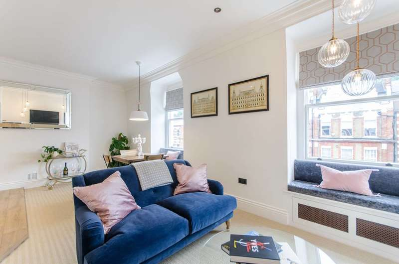 1 Bedroom Flat for sale in Bolton Gardens, South Kensington, SW5