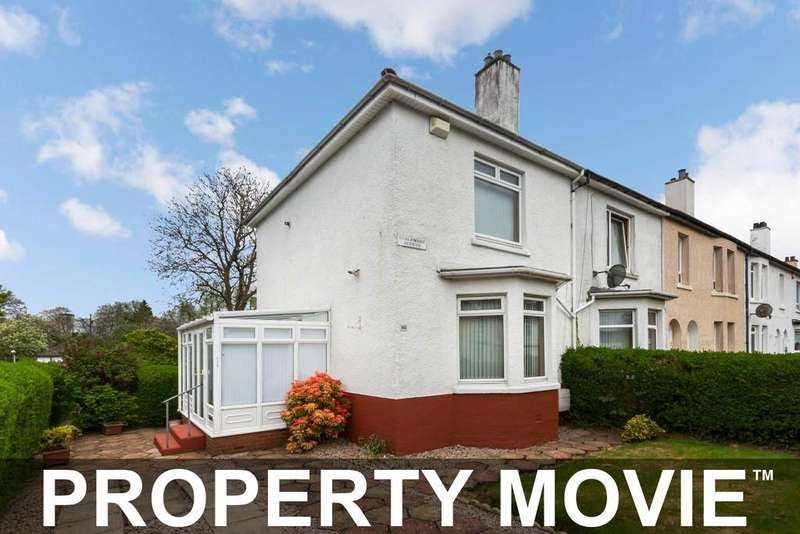 2 Bedrooms End Of Terrace House for sale in 114 Esslemont Avenue, Scotstoun Hill, Glasgow, G14 9AA