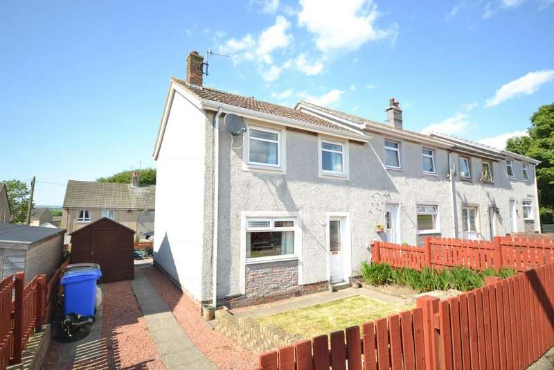 2 Bedrooms End Of Terrace House for sale in 39 Kirkmichael Road, Crosshill, KA19 7RJ