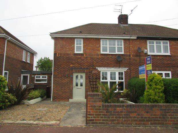 2 Bedrooms Semi Detached House for sale in CHAUCER AVENUE, HARTLEPOOL, HARTLEPOOL