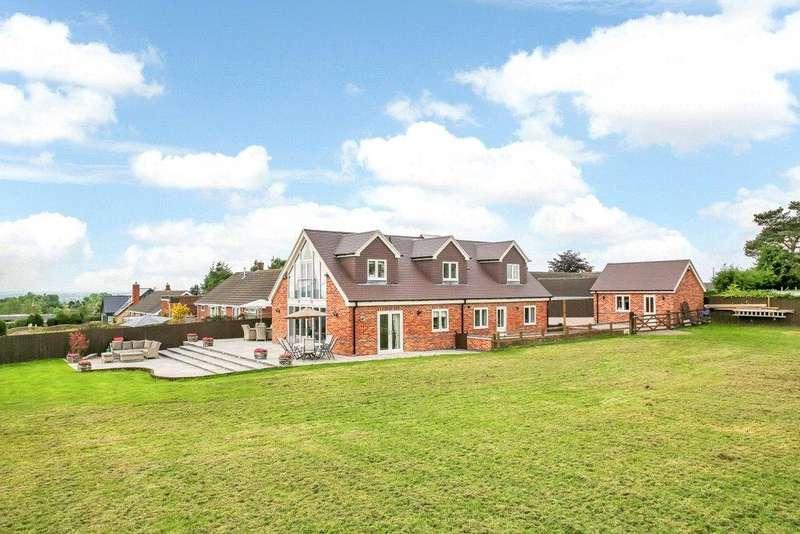 4 Bedrooms Detached Bungalow for sale in Bretby, Burton-on-Trent, Derbyshire