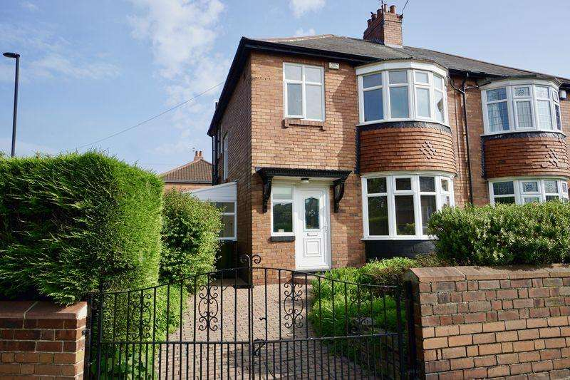 3 Bedrooms Semi Detached House for sale in Cotswold Gardens High Heaton