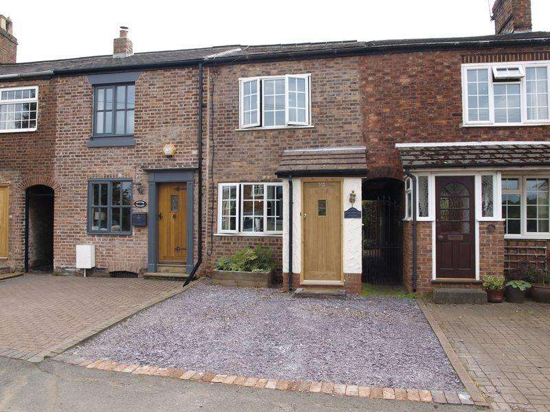 2 Bedrooms Terraced House for sale in Brass Monkey Cottage, Hartford Road, Davenham, CW9 8JF