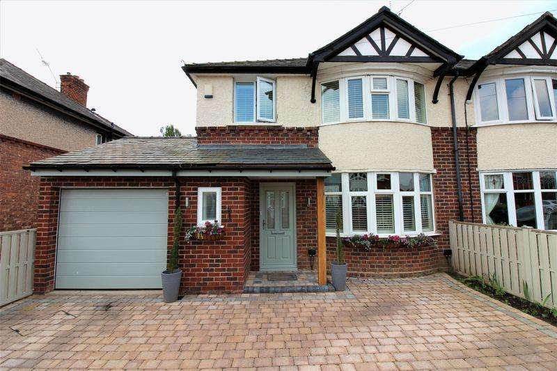 3 Bedrooms Semi Detached House for sale in Marlston Avenue, Chester