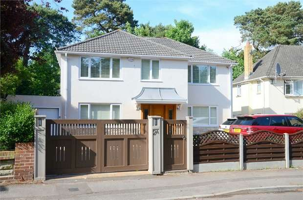 5 Bedrooms Detached House for sale in St Augustins Road, Meyrick Park, Bournemouth