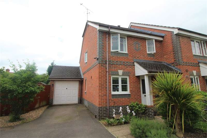 3 Bedrooms End Of Terrace House for sale in Amber Close, Earley, READING, Berkshire