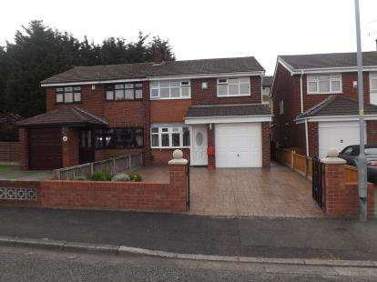 3 Bedrooms Semi Detached House for sale in Byron Court, Warrington, Cheshire, WA2