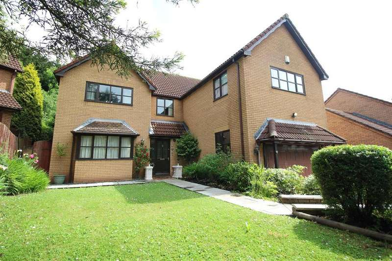 4 Bedrooms Detached House for sale in Eisteddfod Walk, Newport