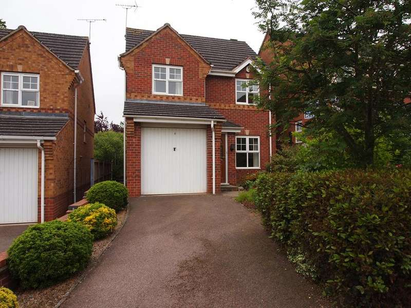 3 Bedrooms Detached House for sale in Elliot Close, Kibworth Beauchamp, Leicester, LE8