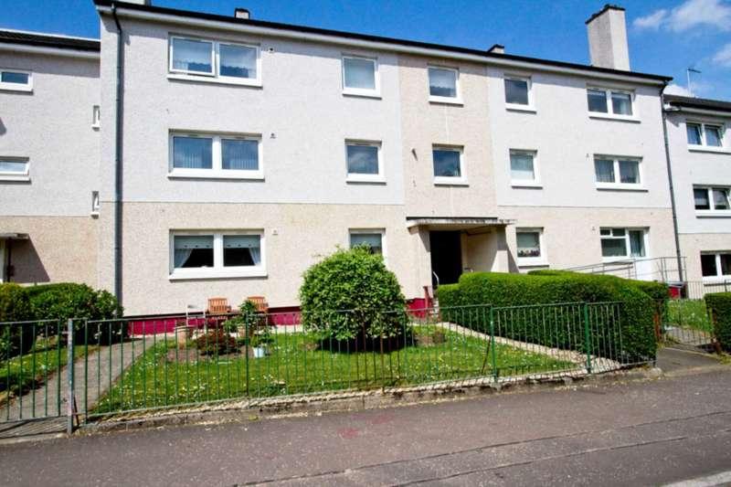 2 Bedrooms Flat for sale in Cavin Drive, Castlemilk