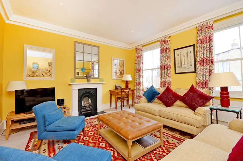 3 Bedrooms Flat for sale in Ifield Road, Chelsea, SW10