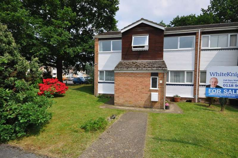 2 Bedrooms Maisonette Flat for sale in Rickman Close, Woodley, Reading, RG5 3LL