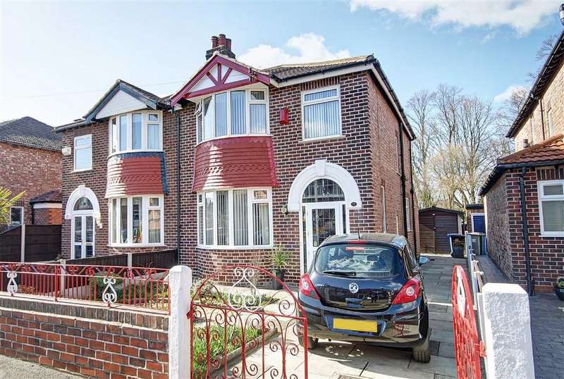 3 Bedrooms Semi Detached House for sale in Buckingham Grove, Timperley, Cheshire