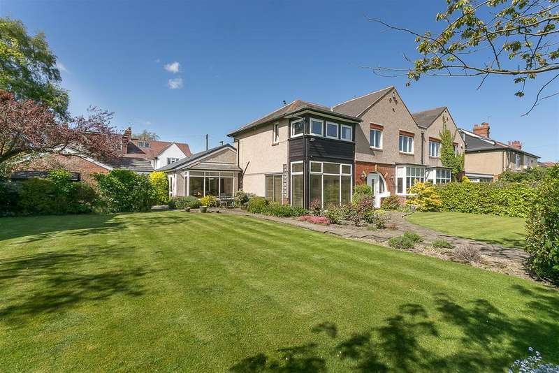 5 Bedrooms Semi Detached House for sale in Northumberland Avenue, Gosforth, Newcastle upon Tyne