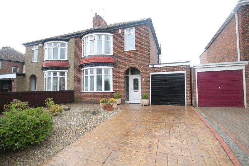 3 Bedrooms Semi Detached House for sale in Sandy Lane, Wolviston Court