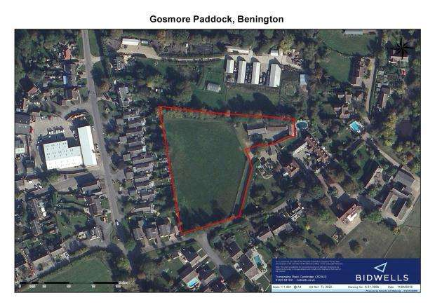 Plot Commercial for sale in Hebing End, Benington, Stevenage, Hertfordshire