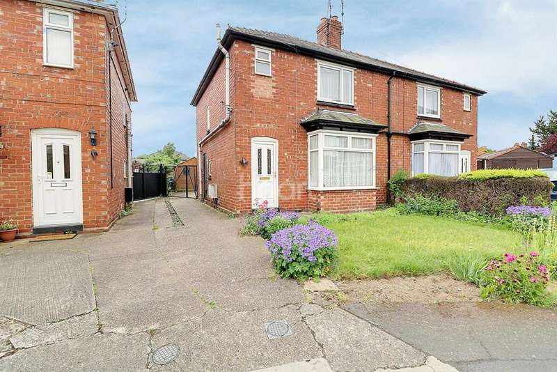 3 Bedrooms Semi Detached House for sale in Bell Grove, Lincoln