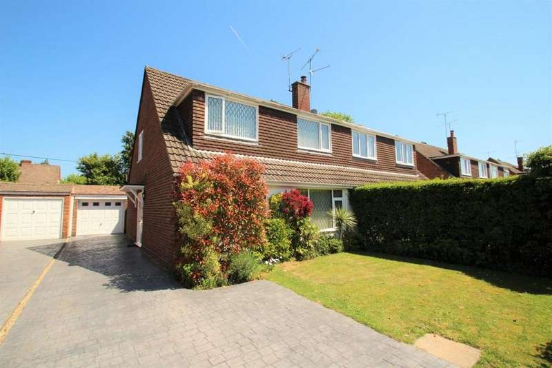 4 Bedrooms Semi Detached House for sale in Pine Ridge Road, Burghfield Common, RG7