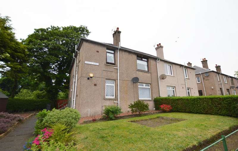 2 Bedrooms Ground Flat for sale in 1 Mayville Street, STEVENSTON, KA20 3DP