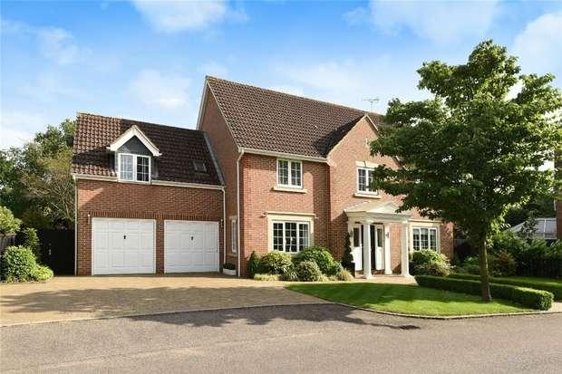 5 Bedrooms Detached House for sale in Thorpe Close, Biddenham, Bedfordshire