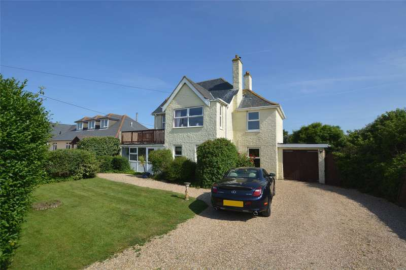 4 Bedrooms Detached House for sale in West Road, Milford on Sea, Lymington, Hampshire, SO41