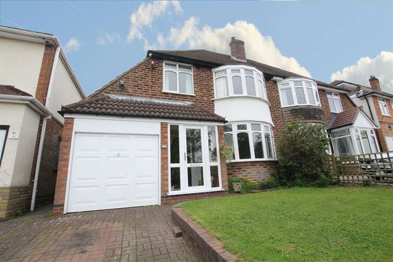 3 Bedrooms Semi Detached House for sale in Maney Hill Road, Sutton Coldfield, B72 1JT