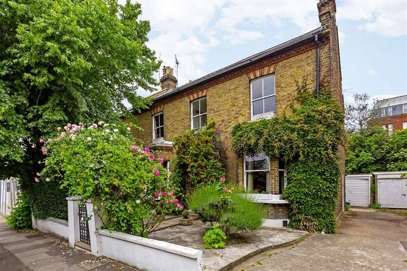 4 Bedrooms Semi Detached House for sale in St. George's Road, Wimbledon