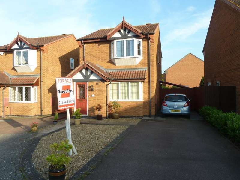 3 Bedrooms Detached House for sale in Trefoil Close, Melton Mowbray