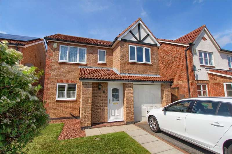 4 Bedrooms Detached House for sale in Dunmoor Grove, Ingleby Barwick